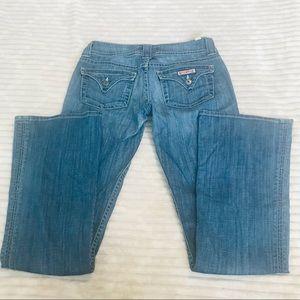 Hudson A01079 Medium Rinse Boot cut Jeans size 27